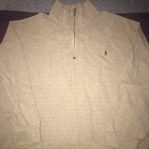 Polo shirt & Champion jacket